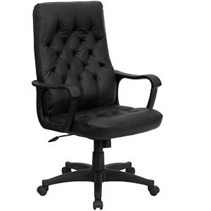 Executive Office Chair - CP-A136A01-GG High-Back Leather Swivel Chair