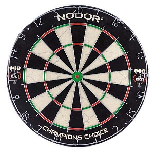 Nodor 60015 Champion's Choice Practice Bristle Dartboard