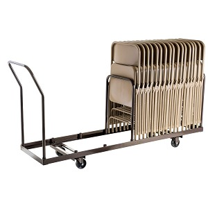 Chair Storage Cart - National Public Seating DY35 Rolling Truck