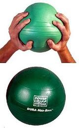 Exercise Equipment Sport Grip Athletic Training 15 Lb Duramedball