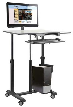 EduTouch Pro Sit & Stand Cart