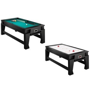 SO G05204W Combo Game Table Atomic 7' 2-in1 Hockey Table / Pool Table