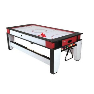 Atomic G05214W 7-Foot Flip Top Game Table Air Hockey and Pool