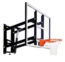 Goalsetter GS72 72-inch Acrylic Wall Mount Basketball Backboard  + Rim