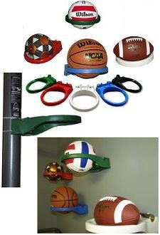 Hoop Scoop Ball Holder Soccer, Football, Basketball