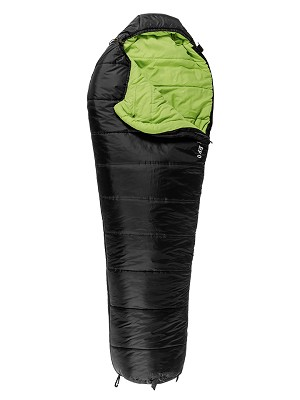 TETON Sports 1173 Regular Black LEEF 0 F UltraLight Sleeping Bag w/ Body Mapping