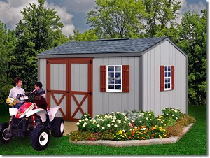 Cypress 10x12 Best Barns Wood Shed Barn Kit