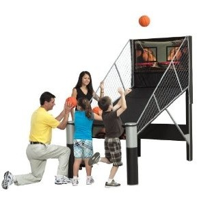 Rhino Play M01463W Arcade Basketball Game Electronic Double Shootout