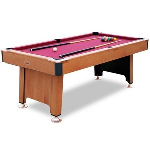 Minnesota Fats Pool Table - 7 Fairfax Billiard Table w/ Ball Return