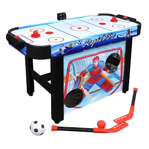 Rapid Fire NG1157M 42-in 3-in-1 Air Hockey Multi-Game Table