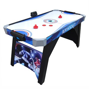 Warrior NG1160 5-ft Air Hockey Table For Home Game Rooms