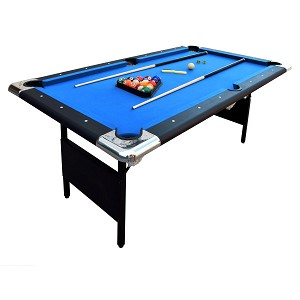 Fairmont NG2574 Portable 6-Ft Pool Table with Easy Folding for Storage