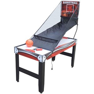 Scout NG5027 54-in 4-in-1 Multi-Game Table - Hockey, Basketball, Table Tennis, White Board