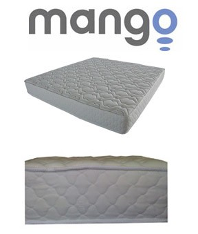 SO Mango M1001-King King Size Quality Plush Mattress Wrap Steel Coils