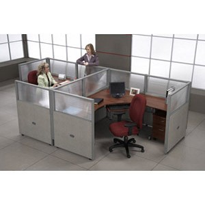 Ofm Rize Workstations R2x2-4772-P Cubicle Work System W Free Ship