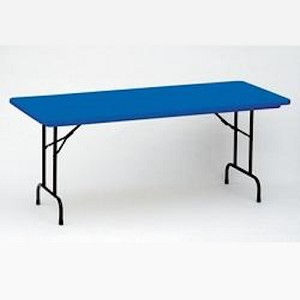 R3060-C Correll Folding Tables Heavy-Duty Tables - 30 x 60 Color Top