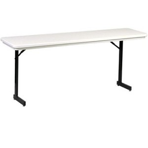 Correll Seminar Folding Tables RA1872TL Adjustable-Height Table 18x72