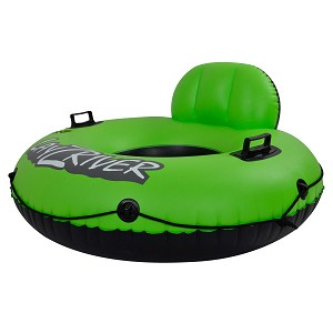 LayZRiver Inflatable Swim 49-in Inflatable Swim River Float Tube