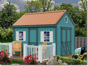 Regency 8'x12' Best Barns Wooden DIY Shed Barn Kit