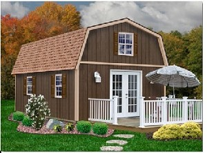 Richmond 16'x28' Best Barns Wood Shed Barn Kit