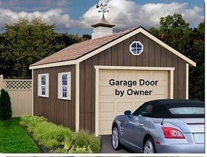 Sierra 12'x16' Best Barns Wood Garage Barn Kit