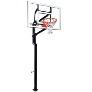 Goalsetter Contender Basketball System 54-inch glass Backboard