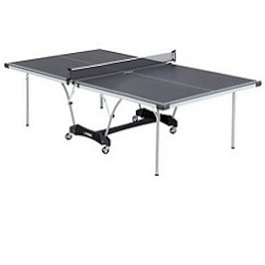 Stiga Daytona Table Tennis Table - T8127 9 ft. Black Top