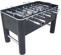 SO Classic Sport 788 Shiny Black Soccer Game Foosball Table
