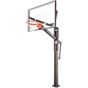 Goalrilla In-Ground Basketball Goal B3016W FT60 60-inch Glass Backboard