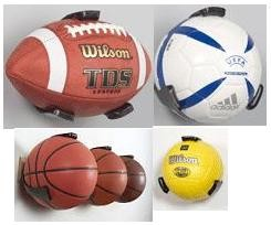 Ball Claw Sports Ball Display Basketball, Soccer & Volleyball Storage