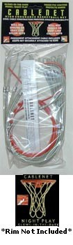 New Cablenet Rim Goal Hoop Permanent Basketball Net
