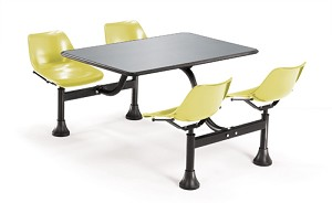 OFM Cluster Table - 1005 30 x 48 Table Top With 4 Seats