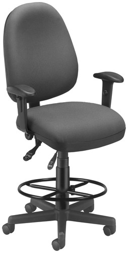 OFM Office Chairs 122-Dk One Seat Fits All Drafting Kit Task Chair