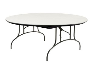 ABS Round Table - Mity-Lite Ct-72 Core Composite 72 Inch