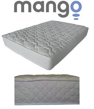 SO Mango M1001-Full Quality Full Size Plush Mattress Wrap Steel Coils