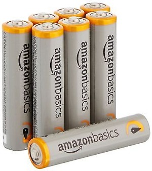 AmazonBasics AAA Performance Alkaline Batteries (8-Pack) Fast S&H