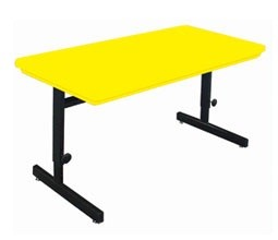 Correll Computer Table - RCSA3060 Blow-Molded Top 30 x 60