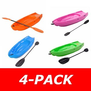 Lifetime Youth Kayaks - 4-Pack Choose your colors